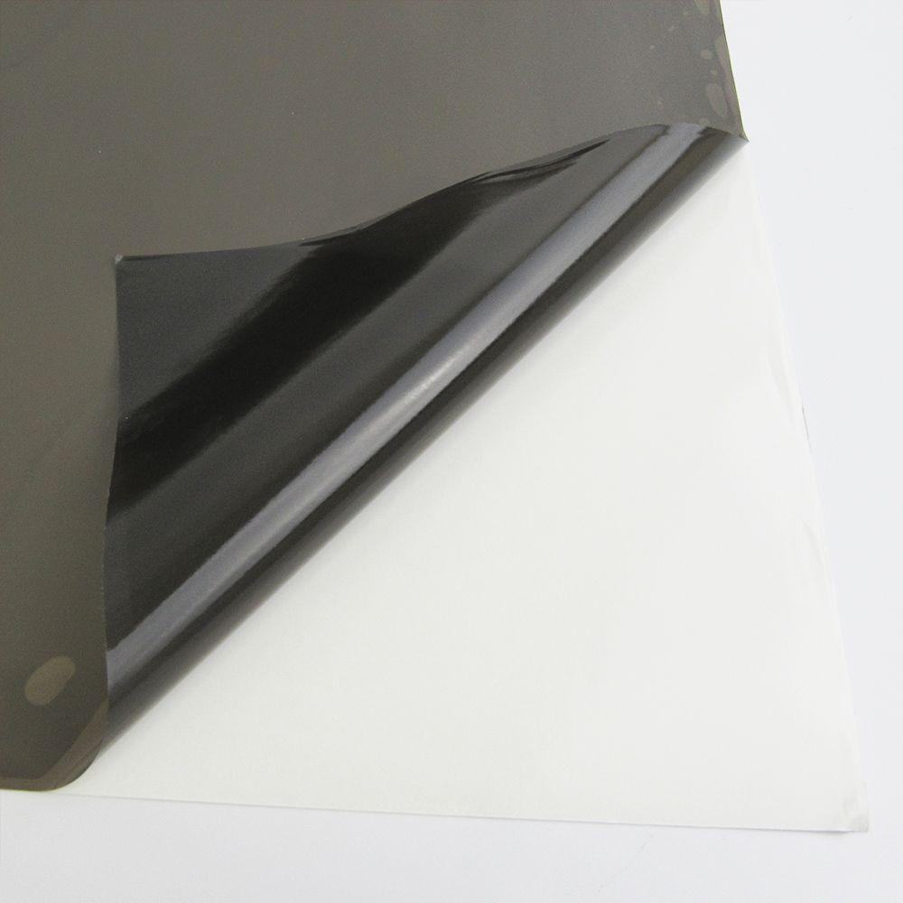 Adesivo para Vidros Transparente Fumê Claro 0,53m  - TaColado