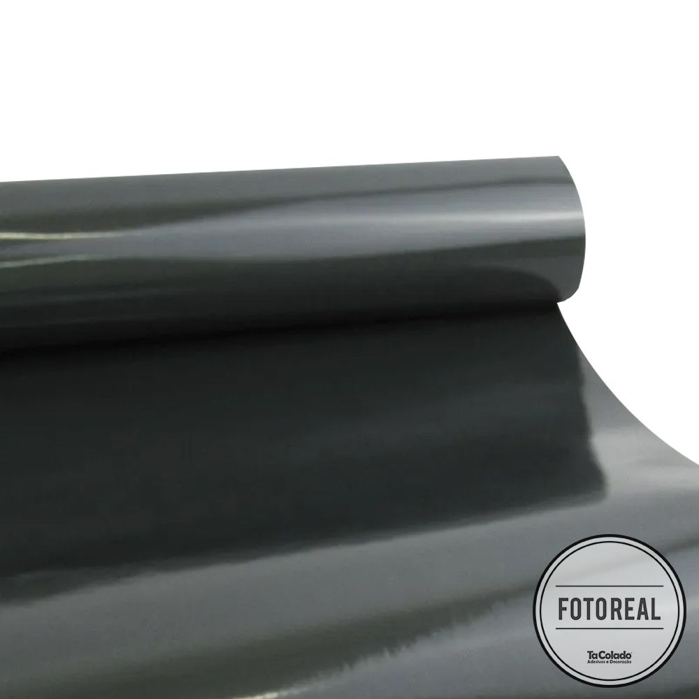 Adesivo para Vidros Transparente Fumê Escuro 0,53m  - TaColado