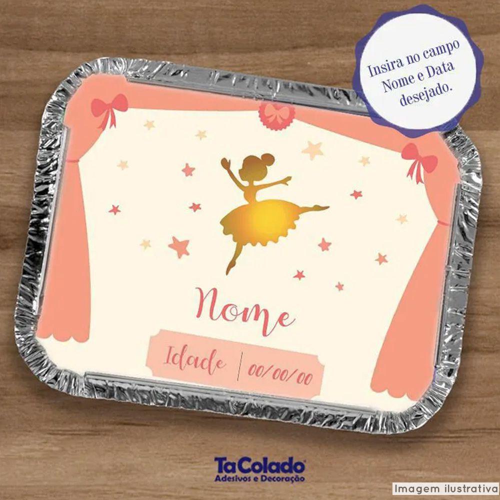 Adesivo Personalizado para Marmita  - TaColado