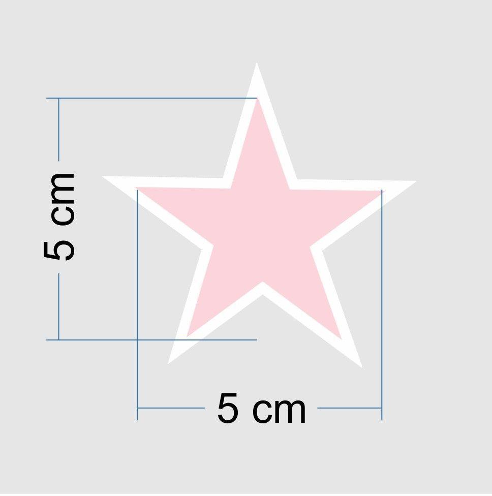 Promoção  - Adesivo Destacável Estrelas Rosa  - TaColado