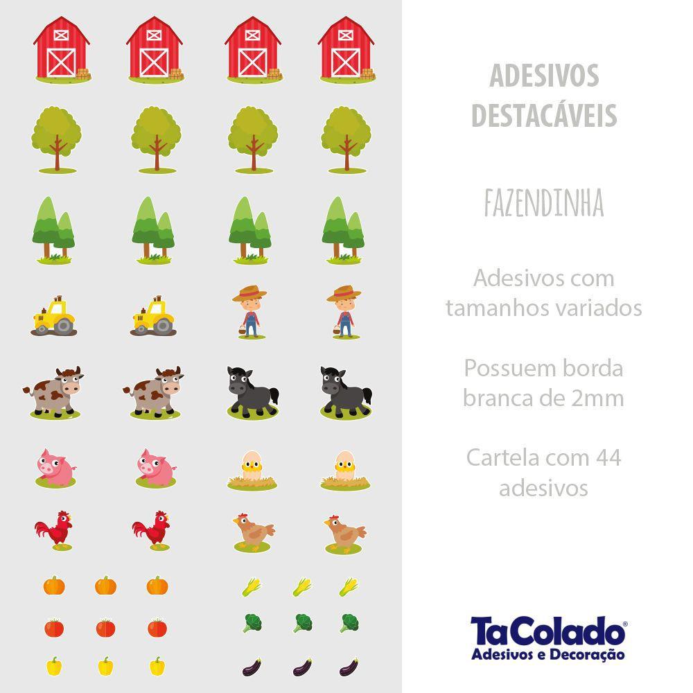 Promoção  - Adesivo Destacável Fazenda  - TaColado