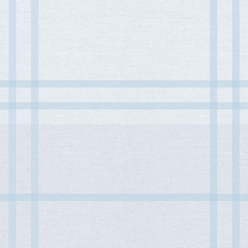 Leve 02 Pague 01!  - Papel de Parede Xadrez Soft Azul  - TaColado