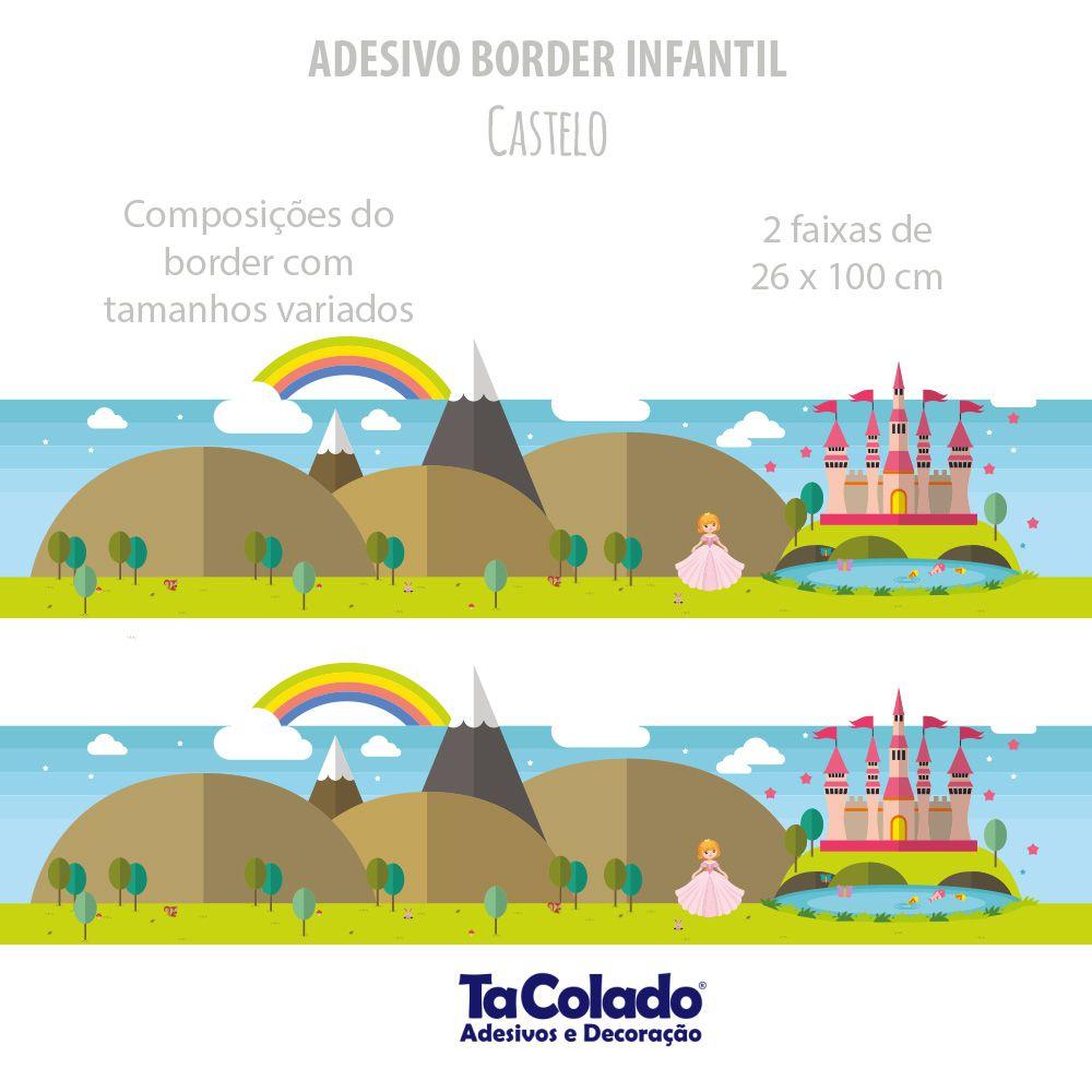Faixa de Parede Castelo  - TaColado