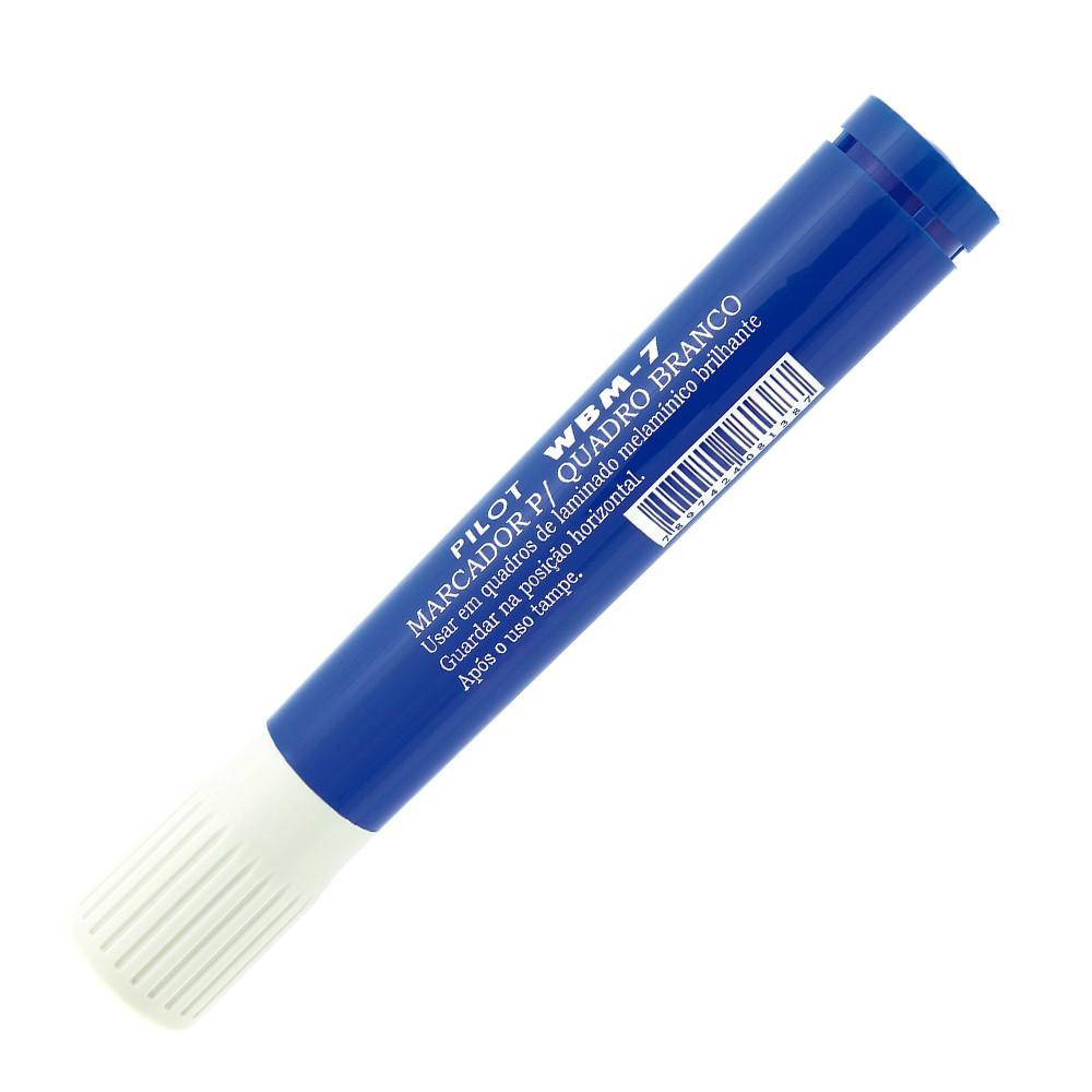 Caneta para Quadro WBM 7 PILOT Azul  - TaColado