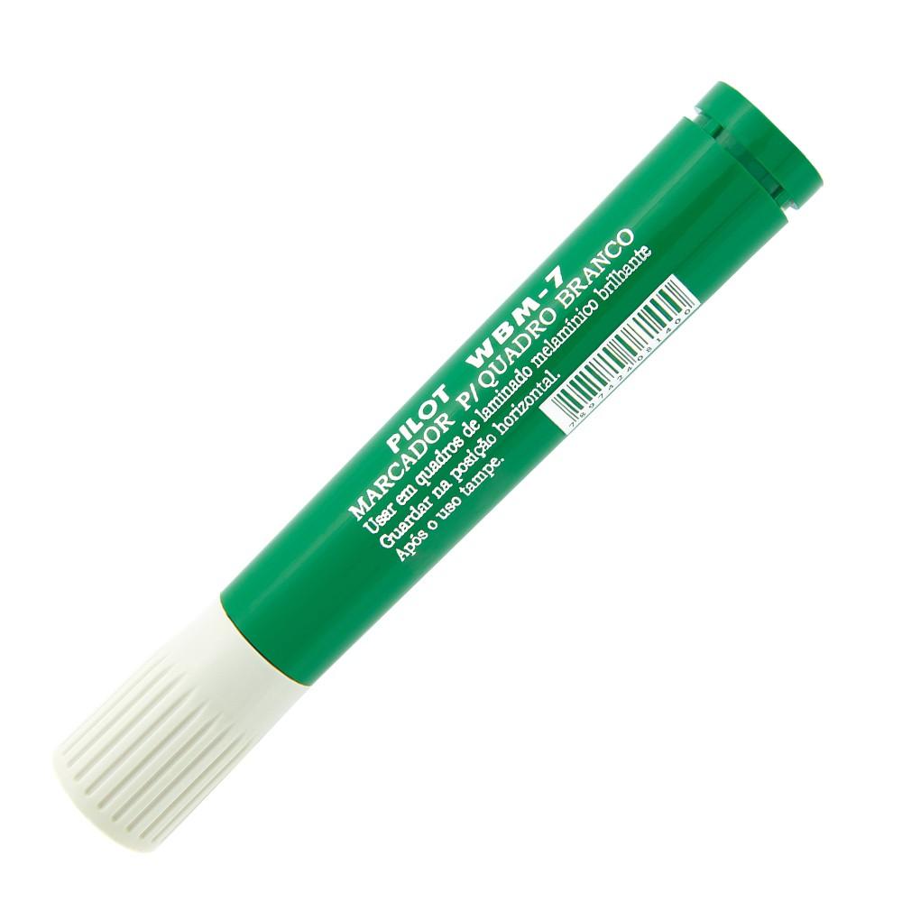 Caneta para Quadro WBM 7 PILOT Verde  - TaColado