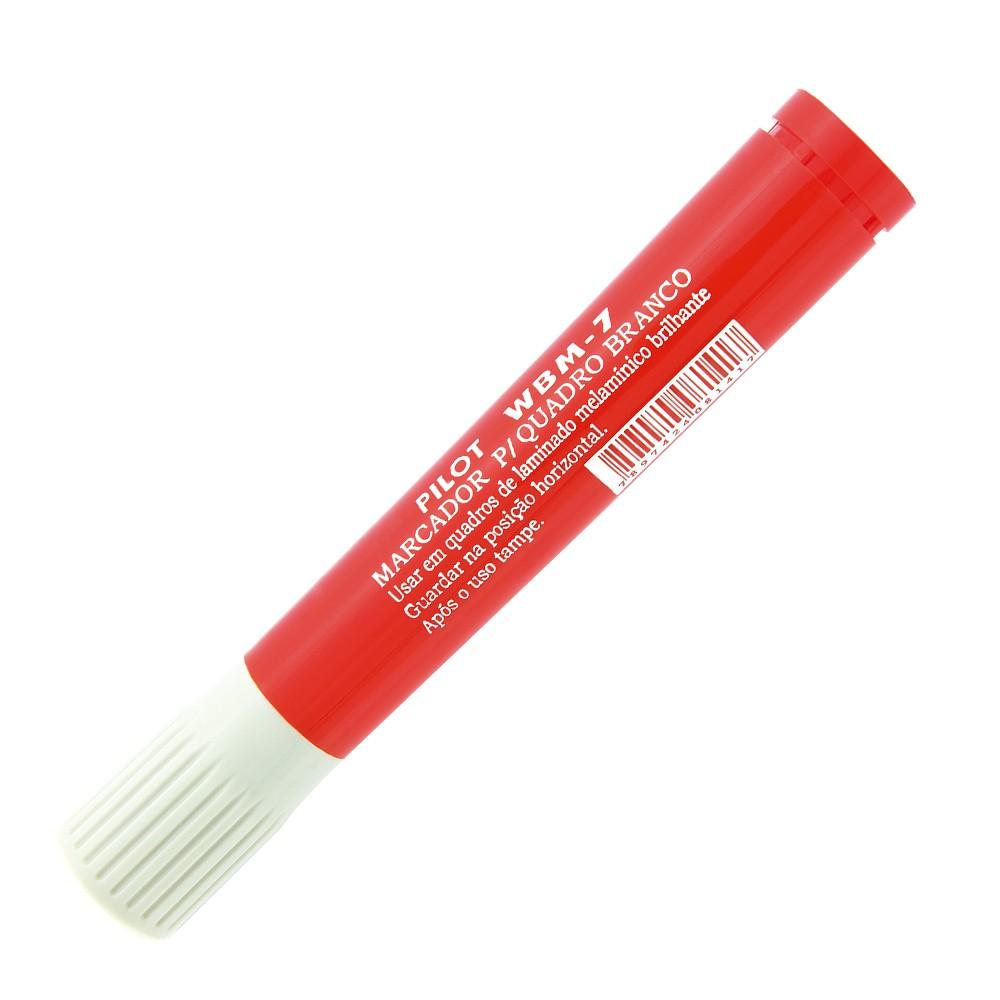 Caneta para Quadro WBM 7 PILOT Vermelho  - TaColado