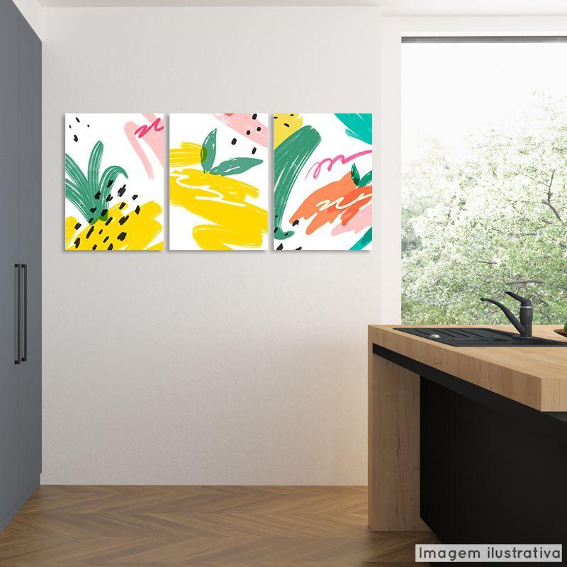 Conjunto 3 Telas Decorativas Tropical  - TaColado