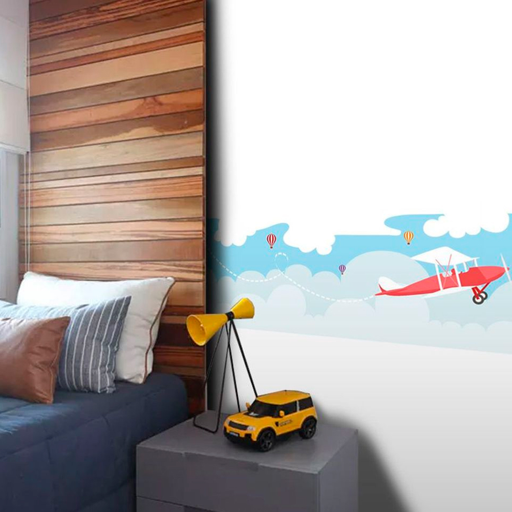 Faixa de Parede Avião  - TaColado