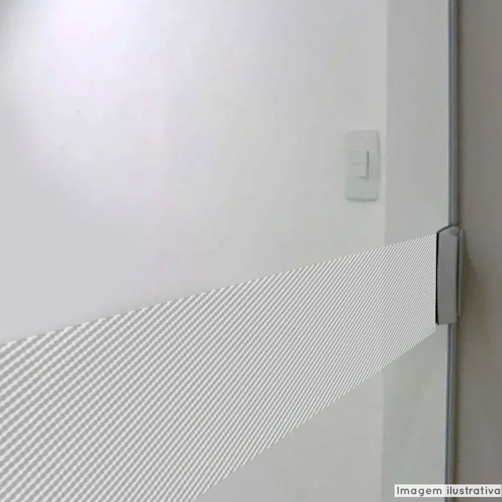 Faixa Jateada anti-impacto para vidros Cristal Carbono  - TaColado