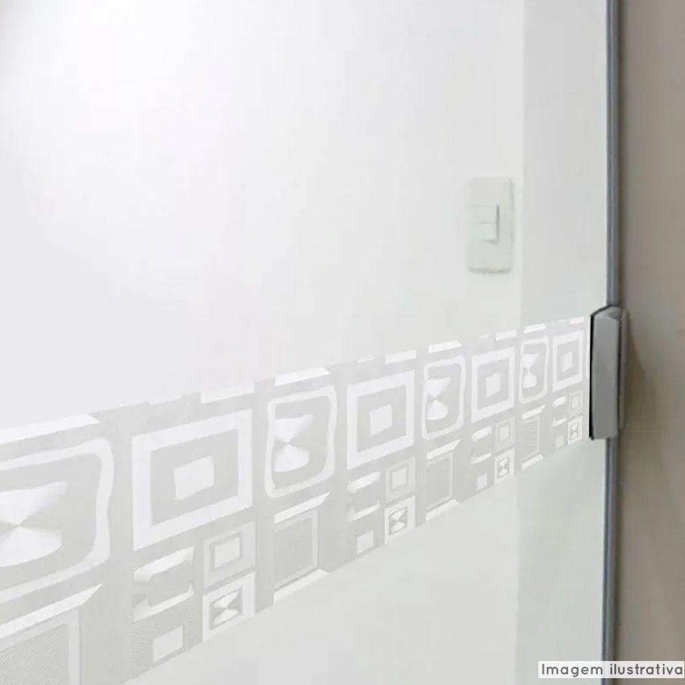 Faixa Jateada anti-impacto para vidros Vision  - TaColado