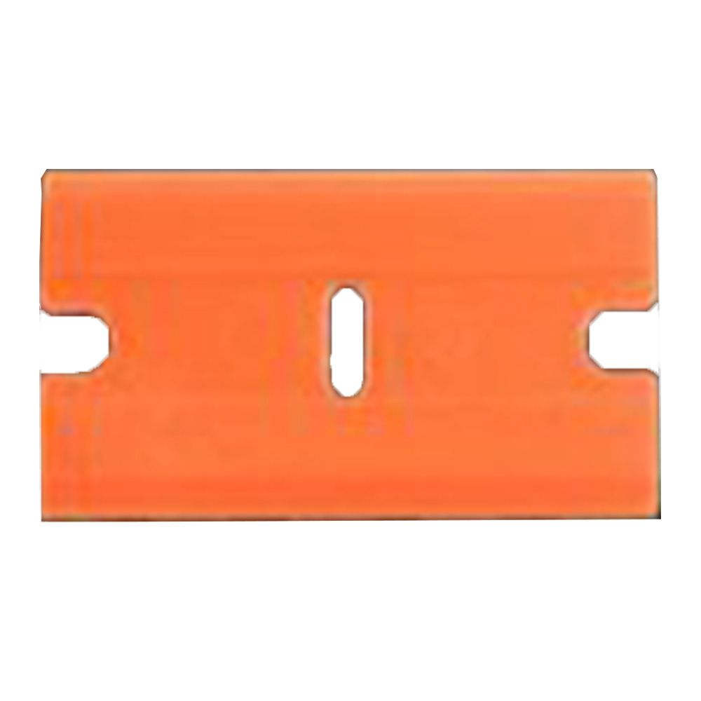 Lâmina Exfak para Raspador de Vidro Plástico Laranja 38mm  - TaColado
