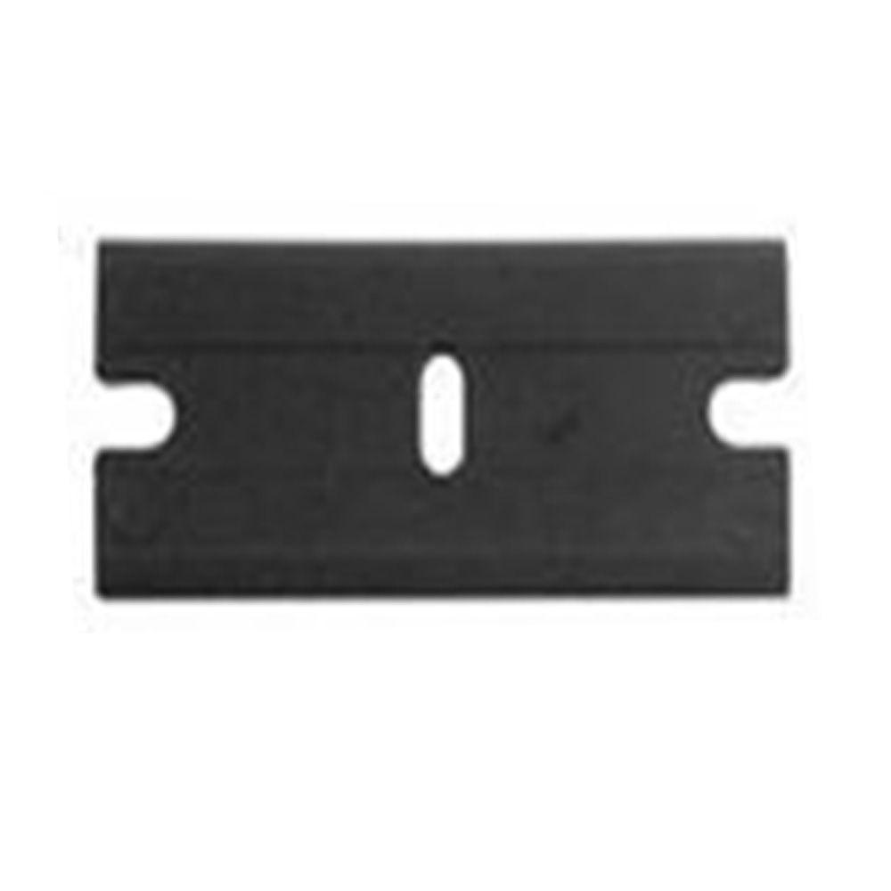 Lâmina Exfak para Raspador de Vidro Plástico Preto 38mm  - TaColado