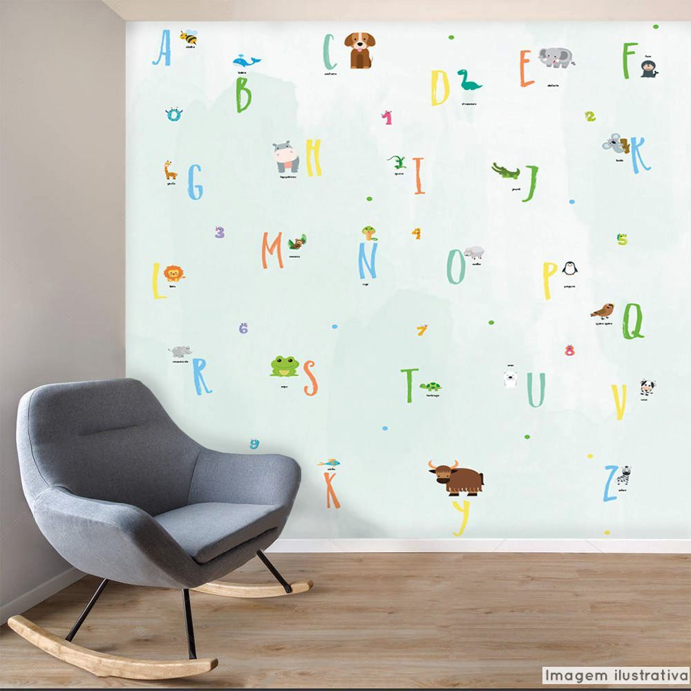Mural Alfabeto  - TaColado