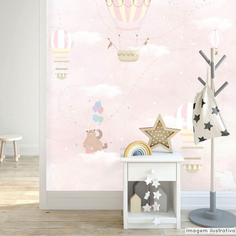 Mural Balão e Nuvem  - TaColado