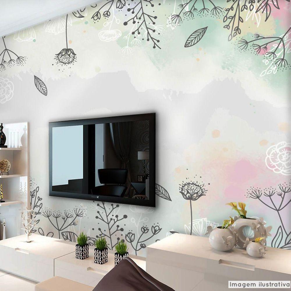 Mural Floral  - TaColado