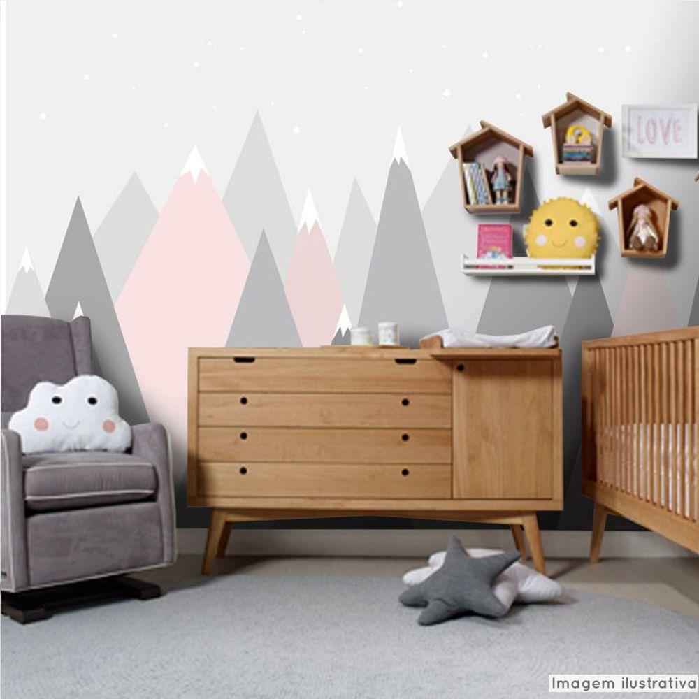 Mural Montanha Rosa  - TaColado