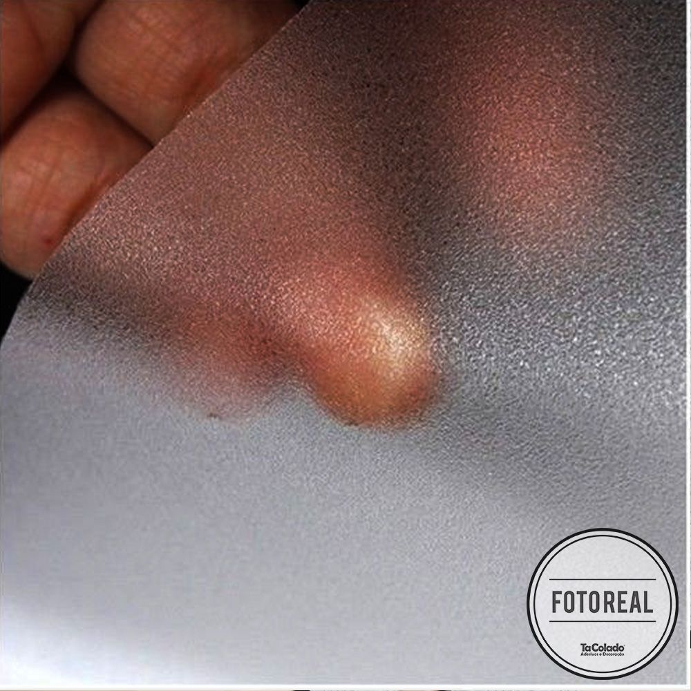 Outlet - Adesivo Jateado para vidros Cristal 0,61x1,00m  - TaColado