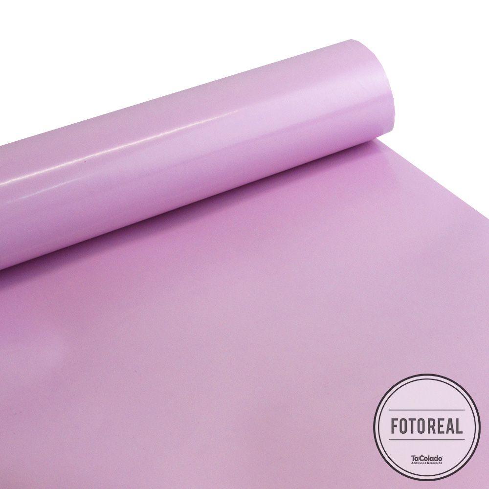Outlet - Adesivo para móveis Laca Alto Brilho Violeta 0,50X1,30m  - TaColado
