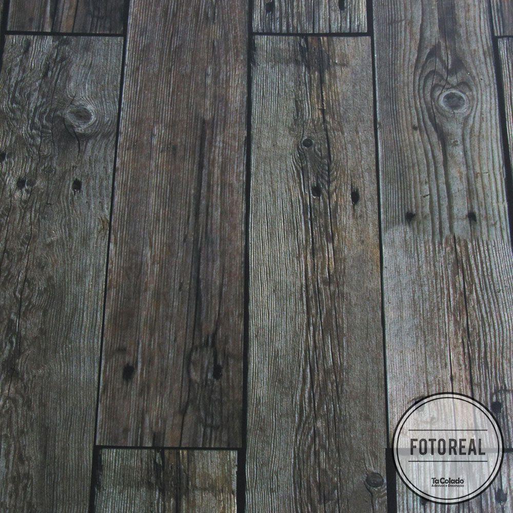 Outlet - Papel Parede Madeira Guajuvira 0,58x2,90m  - TaColado