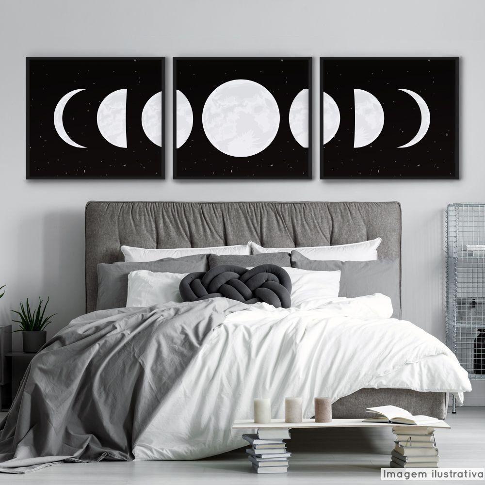 Painel Adesivo Lua  - TaColado