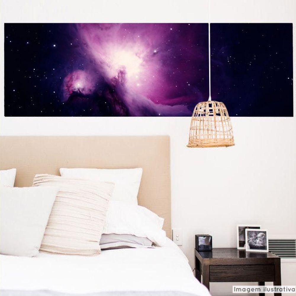Painel Adesivo Nebulosa  - TaColado