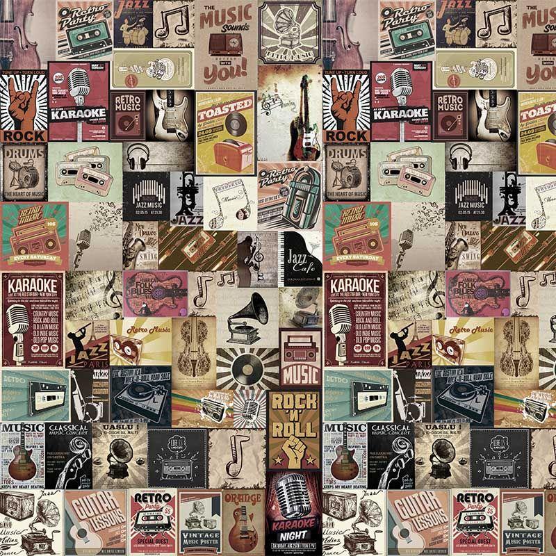 Papel de Parede Vintage Don