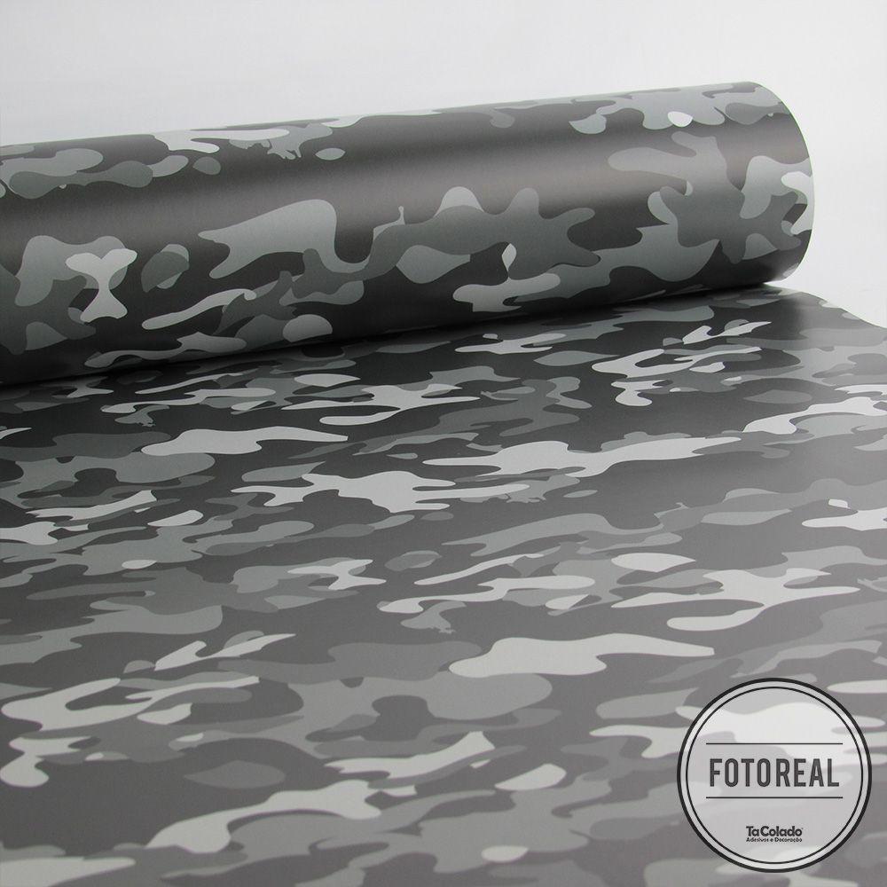 Queima de Estoque - Papel de Parede Camuflado Militar Várias Cores  - TaColado