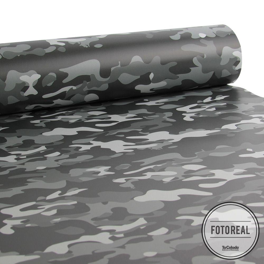 Papel de Parede Camuflado Militar - Várias Cores  - TaColado