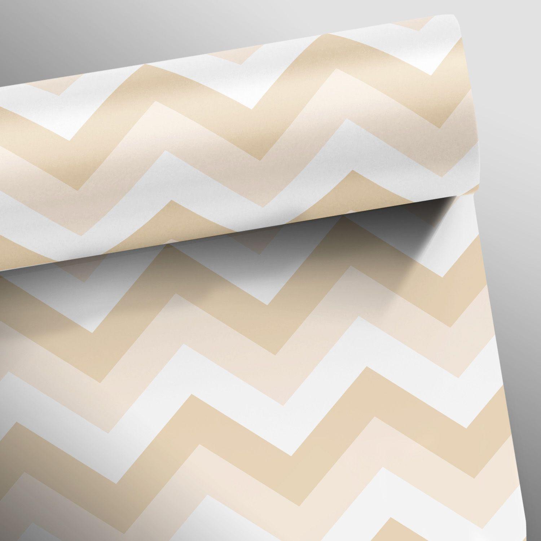 Queima de Estoque - Papel de Parede Chevron Soft Várias Cores  - TaColado