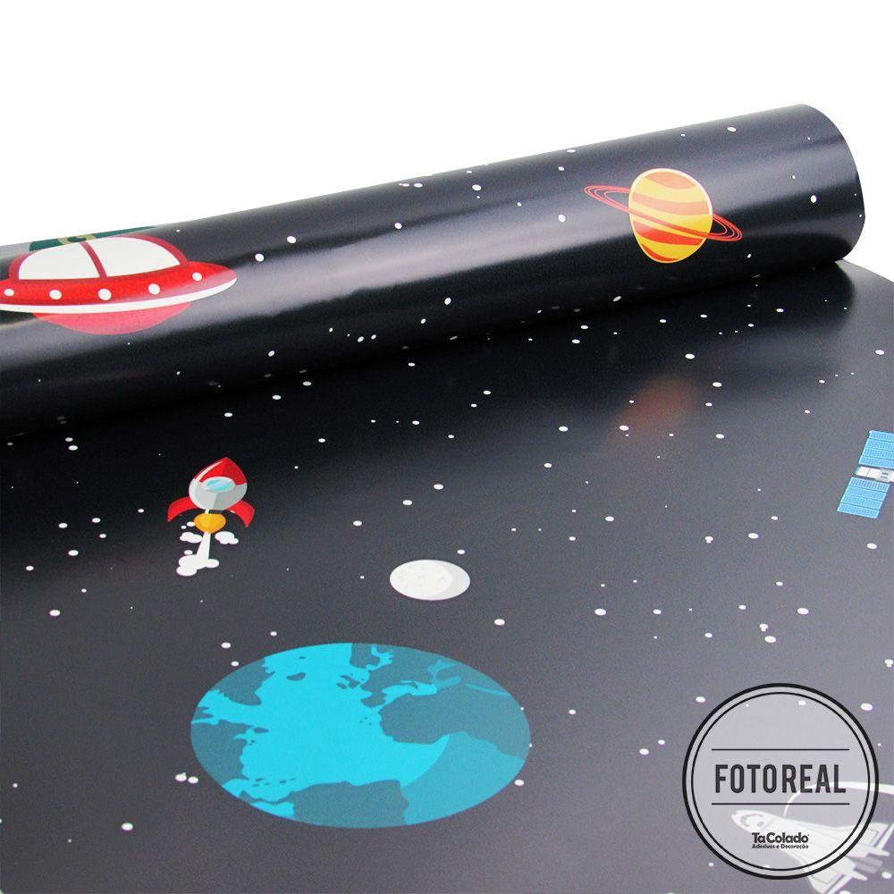 Papel de Parede Espaço  - TaColado