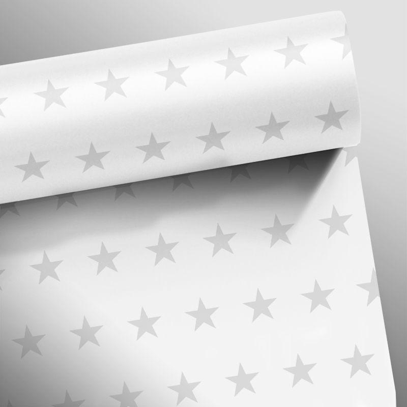 Queima de Estoque - Papel de Parede Infantil Estrelas Várias Cores  - TaColado