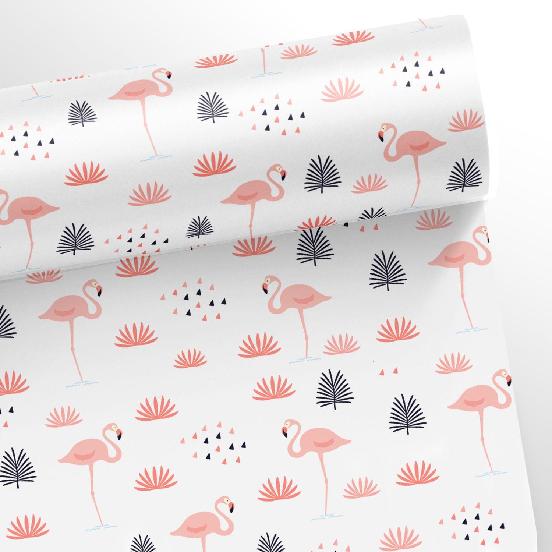 Papel de Parede Flamingos  - TaColado