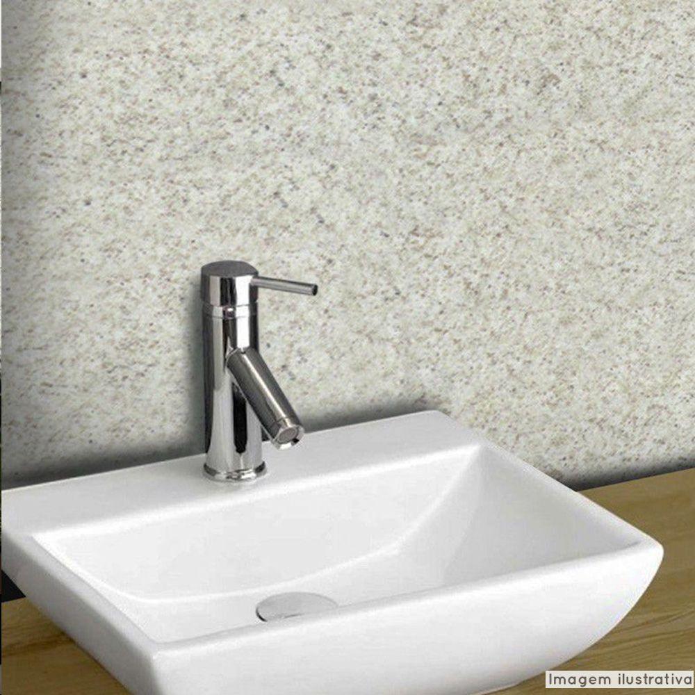 Papel de Parede Granito Marfim  - TaColado