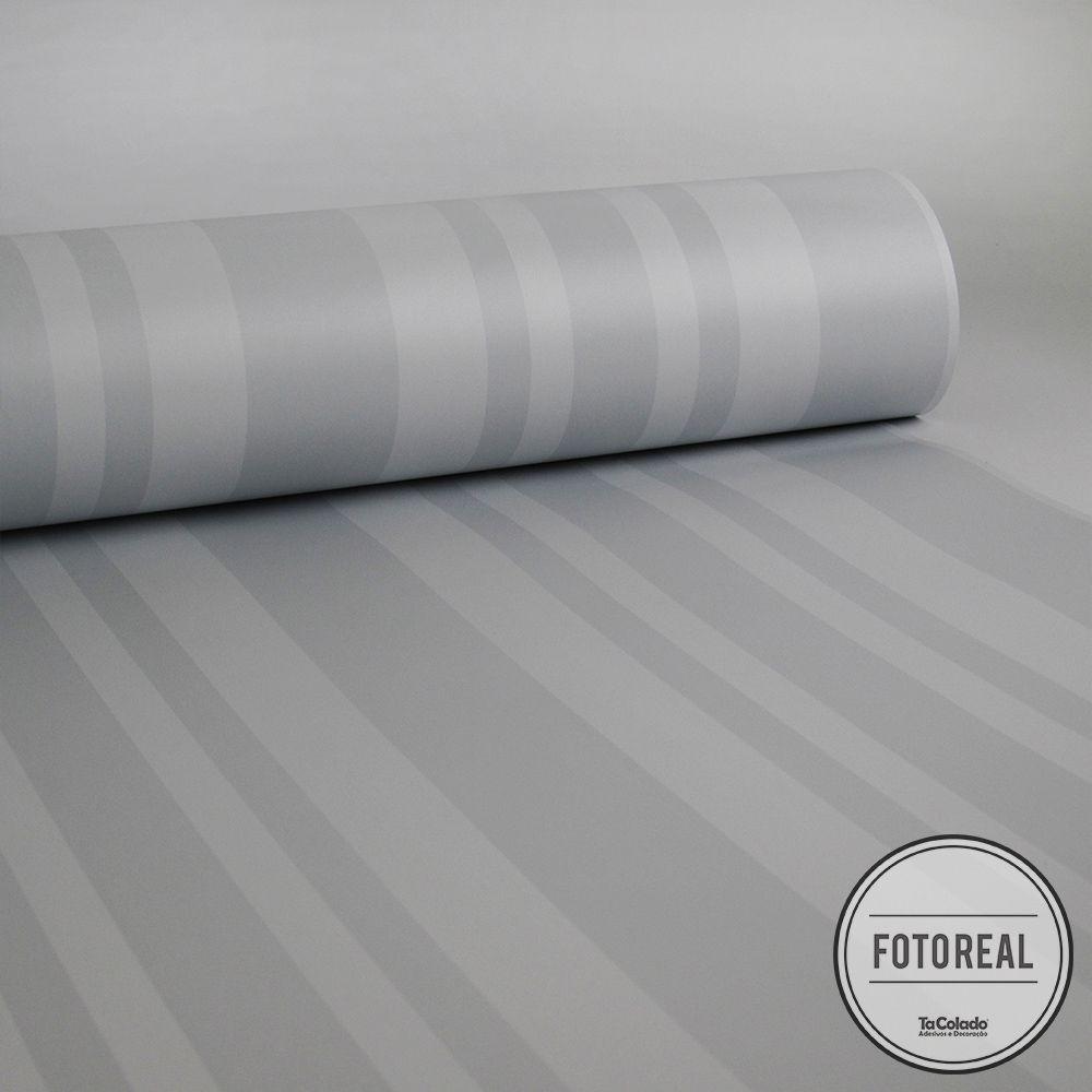 Queima de Estoque - Papel de Parede Listras Rápidas Clear Várias Cores  - TaColado