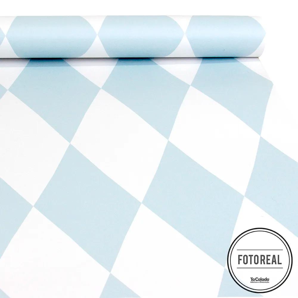 Papel de Parede Losango Soft - Várias Cores  - TaColado