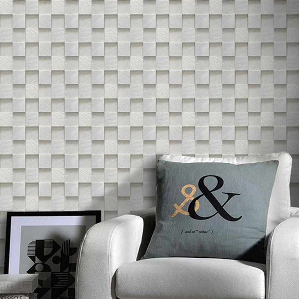 Papel de Parede Pedra Mosaico Paris  - TaColado