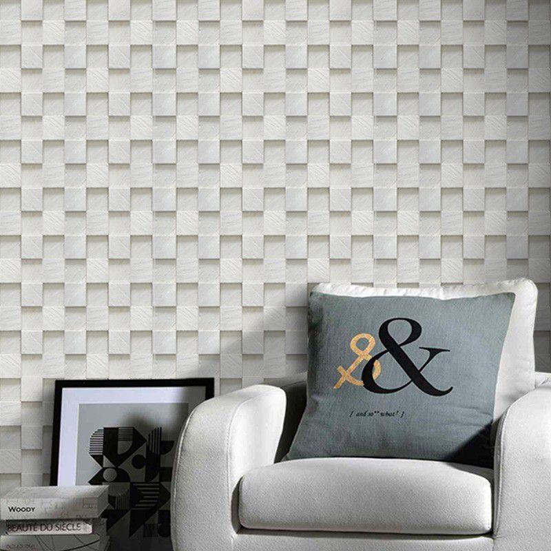 Queima de Estoque - Papel de Parede Pedra Mosaico Paris  - TaColado