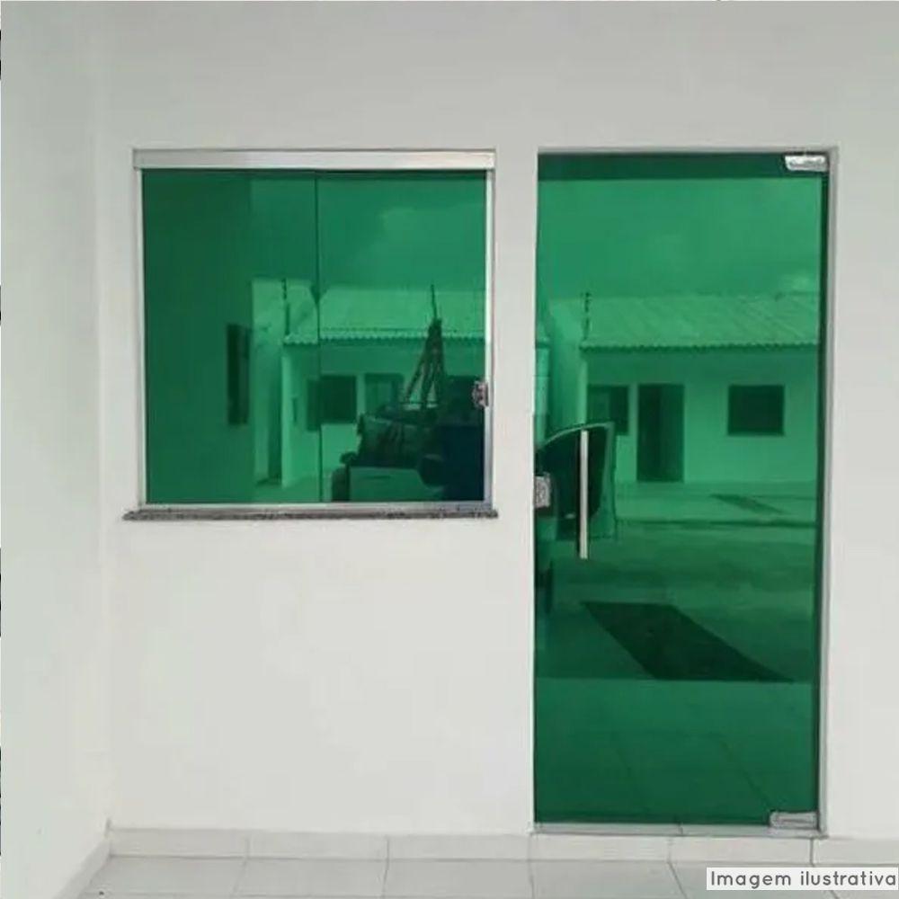 Película Solar Espelhado Verde G20 1,52m  - TaColado