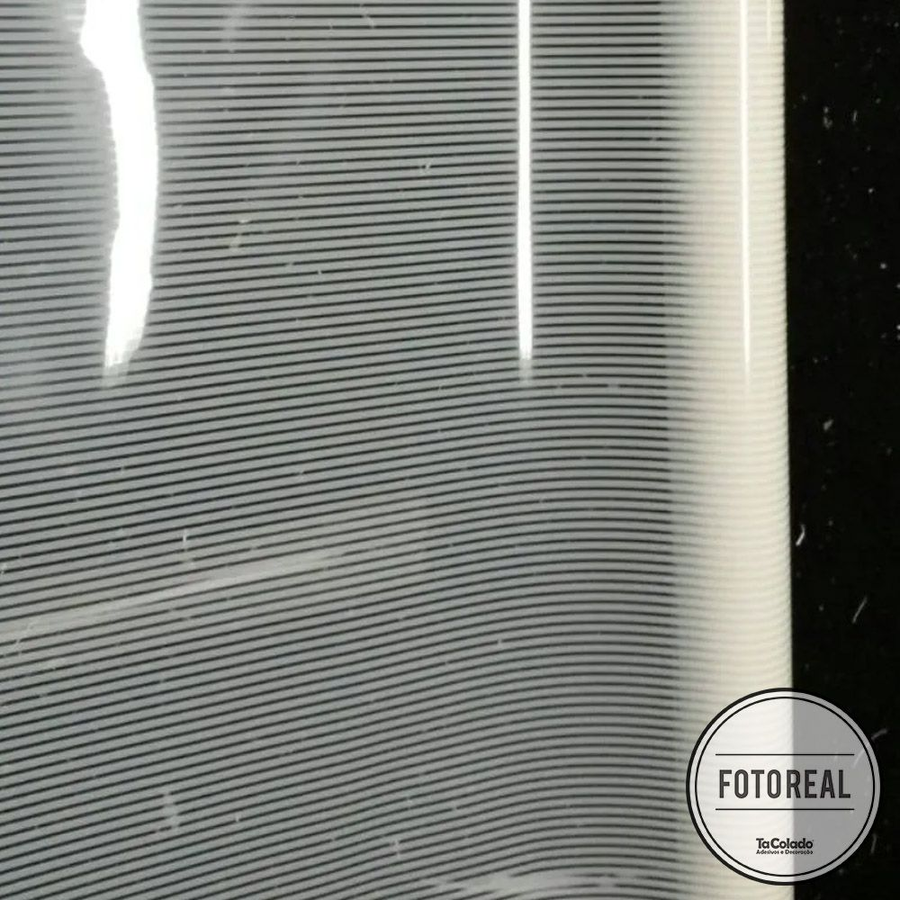 Película Solar Listrado Fino 1,52m  - TaColado