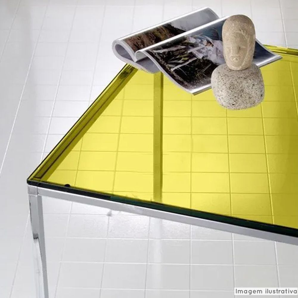 Película Solar Natural Amarelo 0,50m  - TaColado