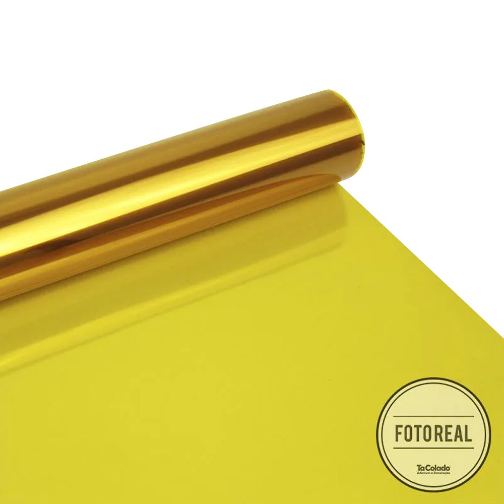 Película Solar Natural Amarelo G20 0,75m  - TaColado