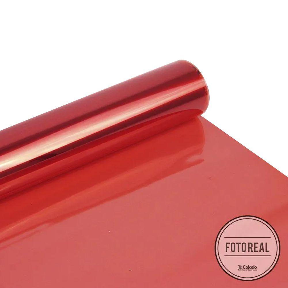 Película Solar Natural Vermelho G80 0,50m  - TaColado
