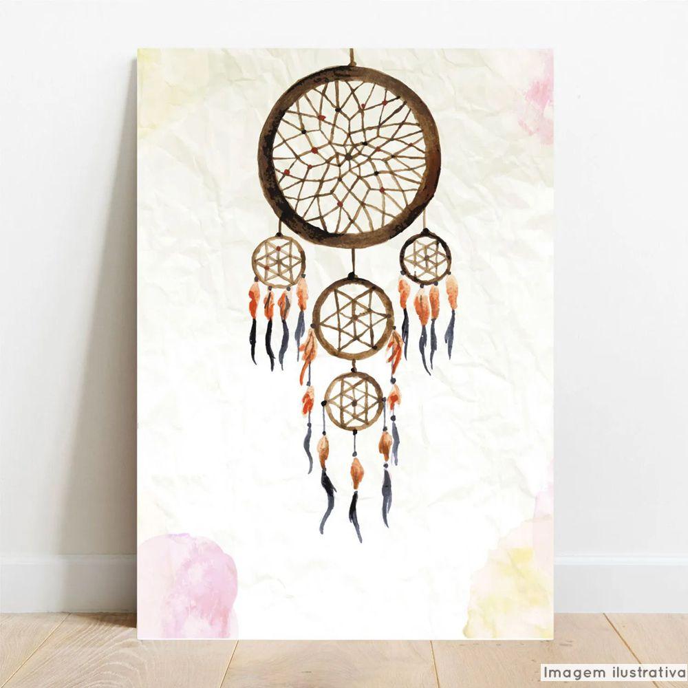 Placa Decorativa Apanhador de Sonhos  - TaColado