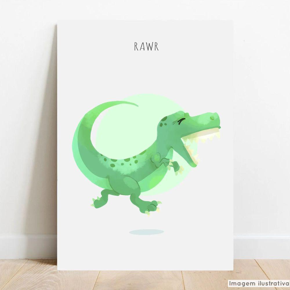 Placa Decorativa Dino  - TaColado