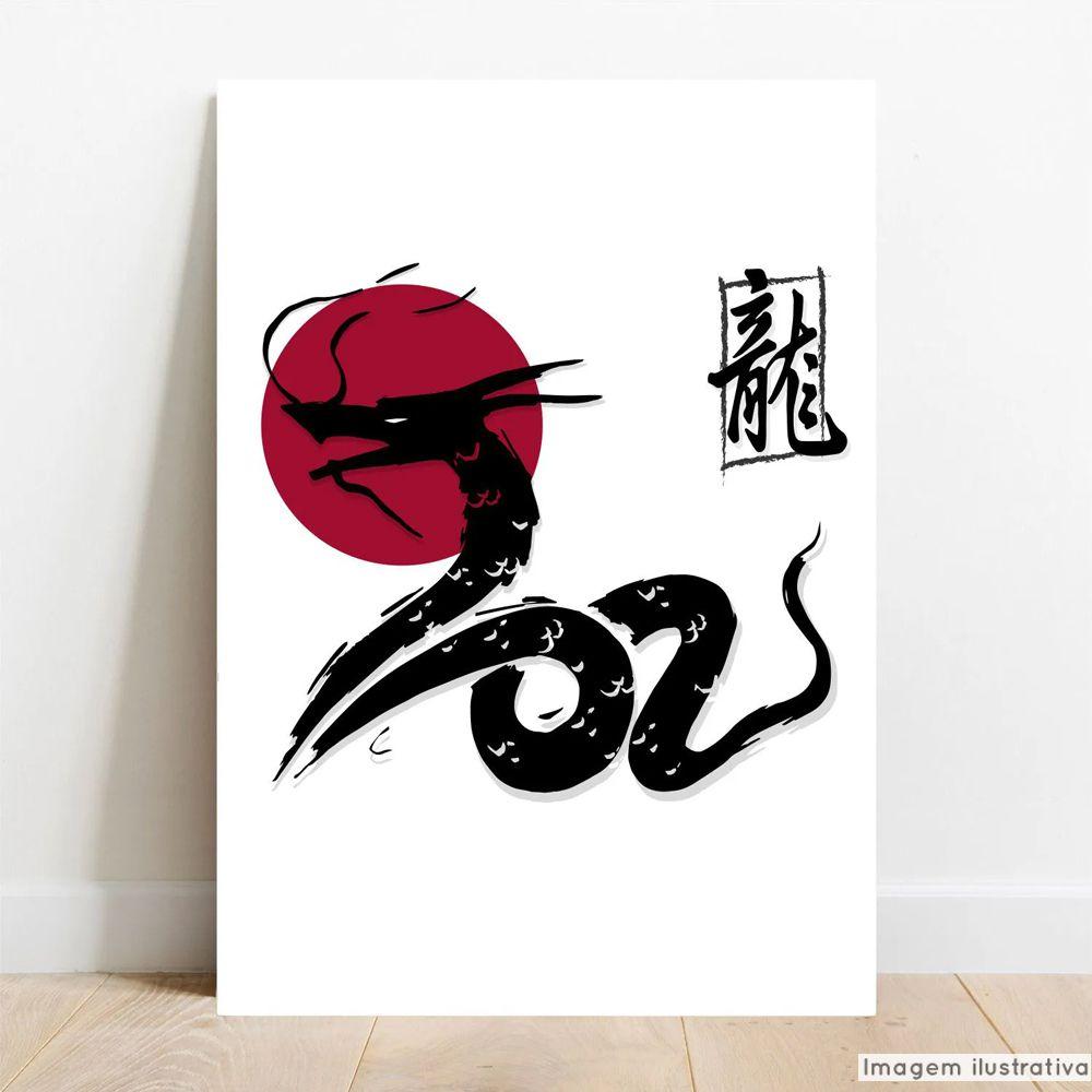 Placa Decorativa Dragon  - TaColado