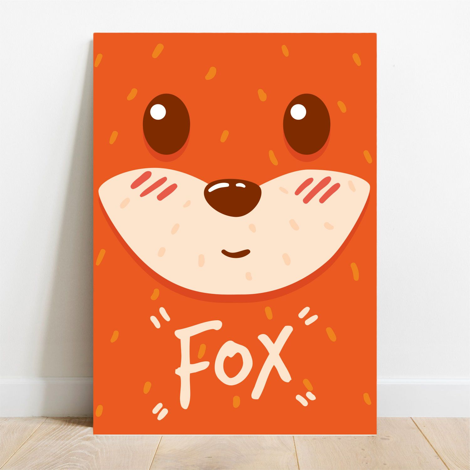 Placa Decorativa Pop Fox