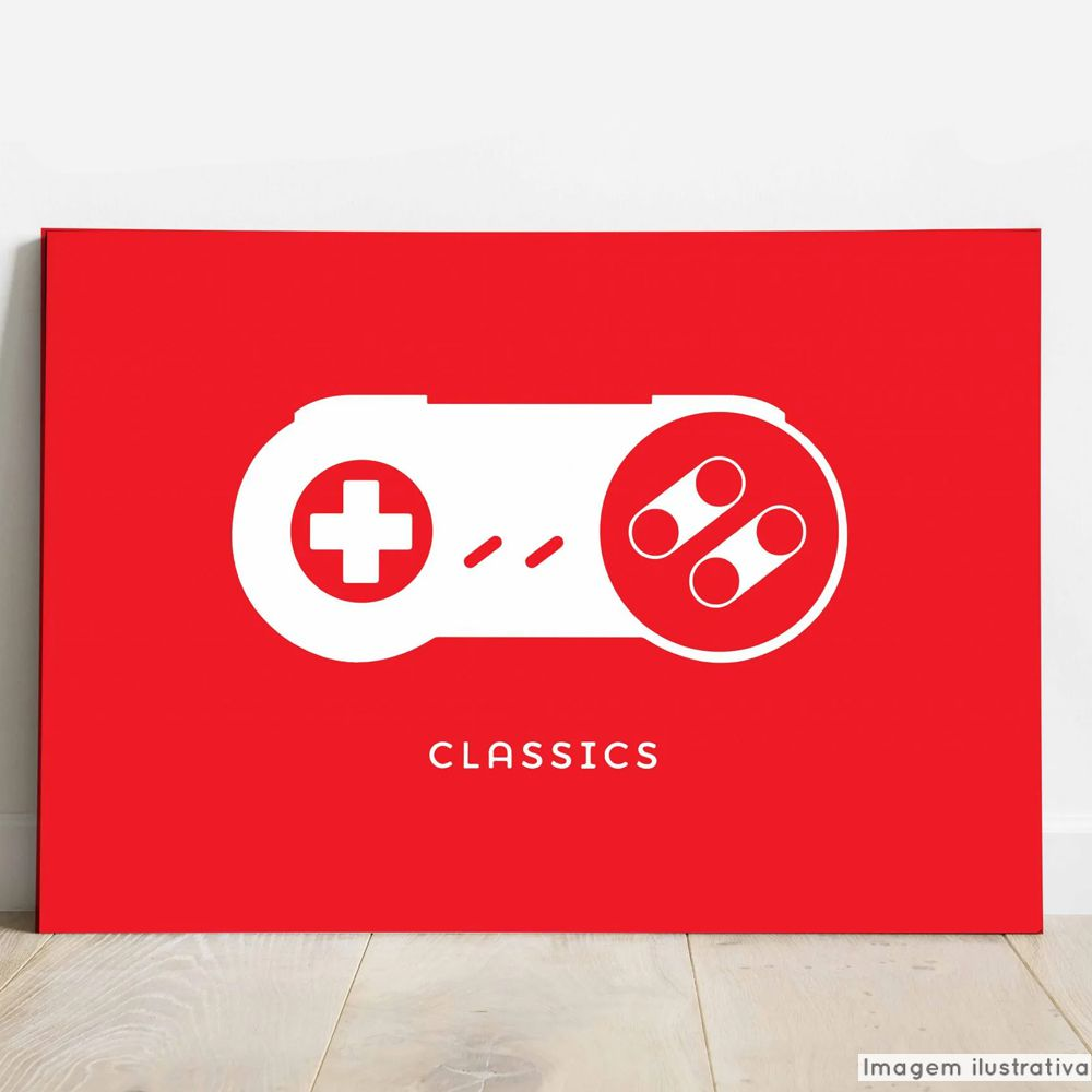Placa Decorativa Gamer  - TaColado