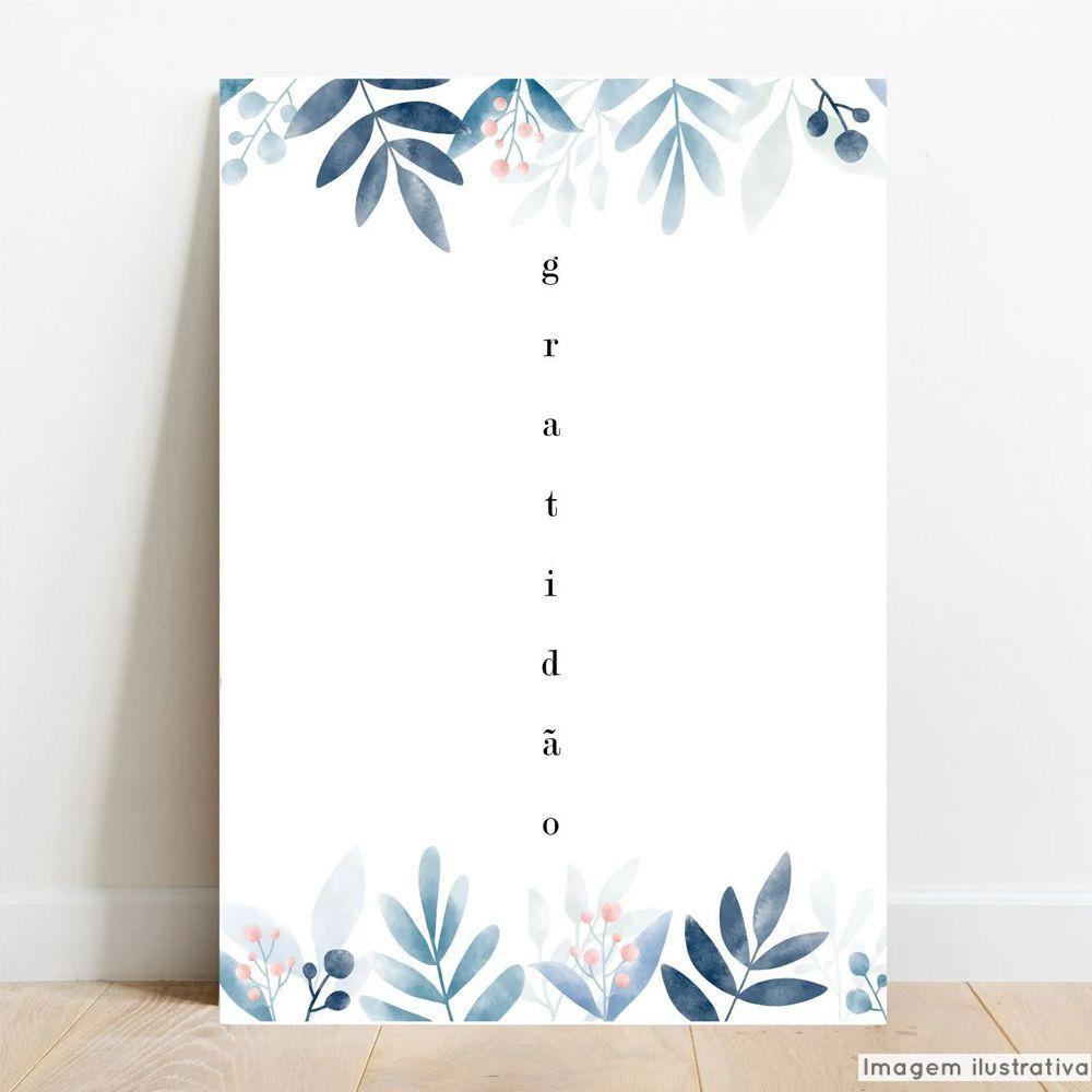 Placa Decorativa Gratidão  - TaColado