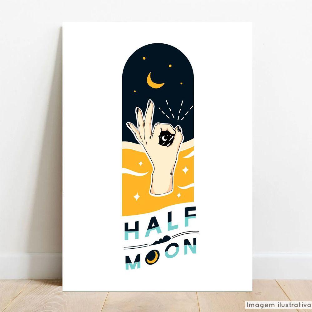 Placa Decorativa Half  - TaColado