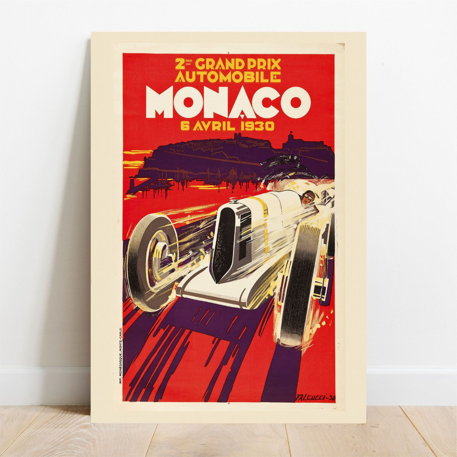 Placa Decorativa Monaco  - TaColado
